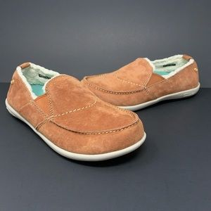 Spenco Faux Fur Lined Casual Comfort Loafers Shoes